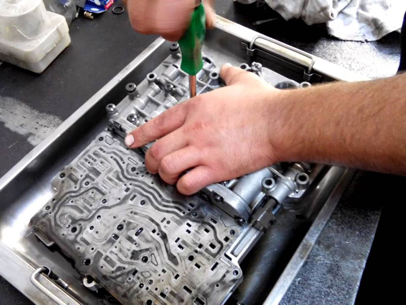 Как отремонтировать коробку автомат самому